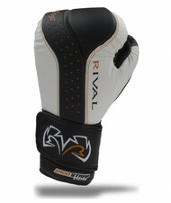 CrossTrainingUK - Rival Boxing RB10-d3o™ INTELI-SHOCK Boxing Bag Gloves Black/White