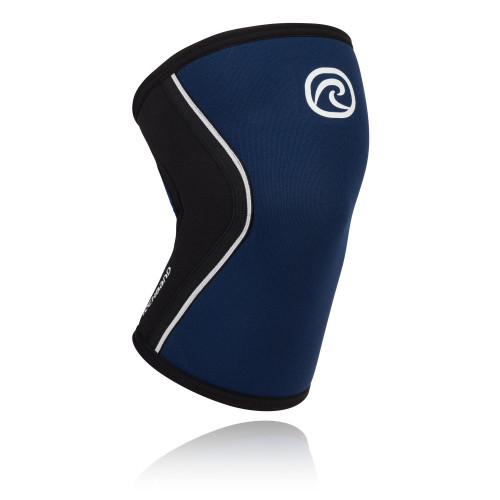 REHBAND RX KNEE SUPPORT 5MM NAVY SLEEVE by JOSH BRIDGES - www.BattleBoxUk.com