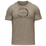 HYLETE Nation Dual-Blend Crew Tee light brown/black www.battleboxuk.com