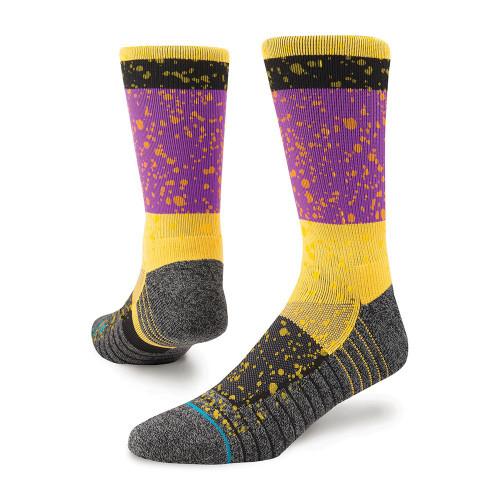Stance Rain Fusion Socks Black www.battleboxuk.com