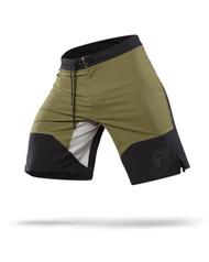 CrossTrainingUK - Reebok CrossFit 74 Cordura® Board Short Green/Black