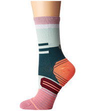 STANCE WOMEN 'S RUN CIELE ATHLETIQUE CREW SOCK PINK WWW.BATTLEBOXUK.COM