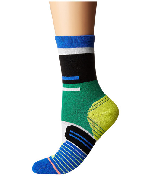 STANCE WOMEN 'S RUN CIELE ATHLETIQUE CREW SOCK BLUE WWW.BATTLEBOXUK.COM