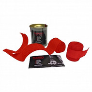Klokov Winner Red Weightlifting Elastic Wrist Support Bandage Extra Long 1.5 - www.BattleBoxUK.com