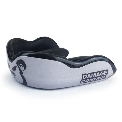DAMAGE CONTROL KILLER CUB SIVER HIGH IMPACT MOUTHGUARD - www.BattleBoxUk.com