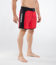 VIRUS MEN'S DISASTER II COMBAT SHORTS (ST2) BLACK/RED WWW.BATTLEBOXUK.COM