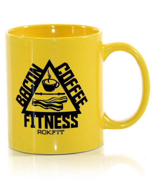 ROKFIT THE TRIFECTA COFFEE MUG WWW.BATTLEBOXUK.COM