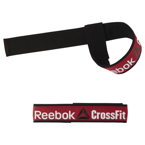 Reebok Crossfit Weightlifting Straps Black (AJ6639) - www.BattleBoxUk.com