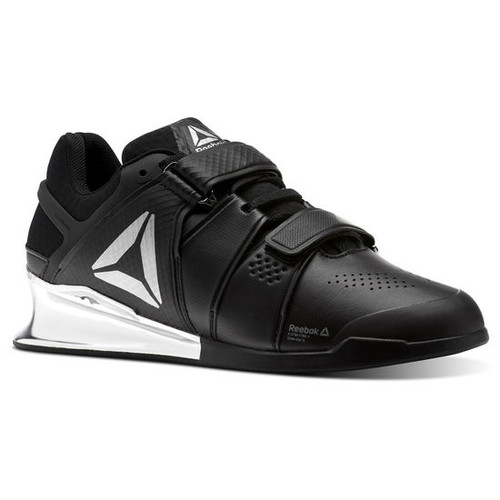MEN CROSSFIT REEBOK LEGACY LIFTER Black/White/Silver (CN1002) www.battleboxuk.com