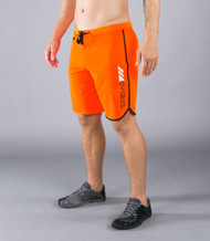 VIRUS MEN'S AIRFLEX TRAINING SHORT (ST1)- ORANGE/BLACK www.Battleboxuk.com SALE