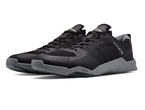 Hylete Circuit Cross-Training Lifting Shoe | black/cool grey | Vibram outsole - www.BattleBoxUk.com