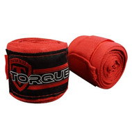 "Torque Sports  VELOCITY Elastic Extra Long Hand Wraps 108"" Red"