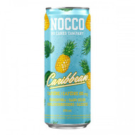 NOCCO Caribbean New Limited Edition BCAA Drink with Caffeine (Pack of 6,12 or 24 cans)  - www.BattleBoxUk.com