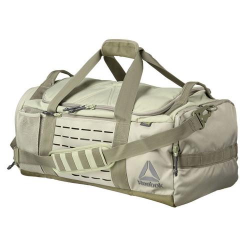 REEBOK CROSSFIT 'GRAB AND GO' DUFFLE BAG KHAKI  - www.BattleBoxUk.com