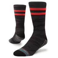 STANCE | TRAINING UNCOMMON SOLIDS CREW | BLACK |Training 360