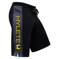 Hylete Cross-Training short 2.0 (Black/Gun Metal/Atomic Yellow)
