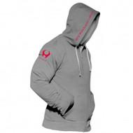 CrossTrainingUK - Hylete Cross Training compete performance 1.0 hoodie (Charcoal/Shocking Red)
