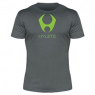 Hylete compete performance 3.0 tee (Slate/Neon Green)