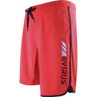 VIRUS Airflex 4-Way Stretch Training Shorts Red with Black