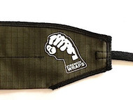STRENGTH WRAPS - ARMY GREEN EXTRA LONG