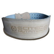 "CrossTrainingUK - SCITEC NUTRITION ""WEIGHTLIFTER"" 100% LEATHER  BELT"