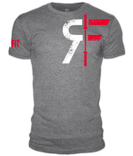 RokFit Logo Athletic Grey T-Shirt