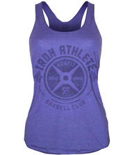 CrossTrainingUK.co.uk - RokFit Iron Athlete Purple Tank Top Women