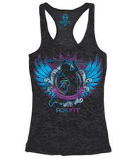 CrossTrainingUK.co.uk - RokFit Butterfly Pull-Up Tank Top Women