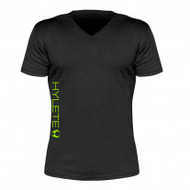 Hylete Cross-Training performance 2.0 tee (Vintage Black/Neon Green)