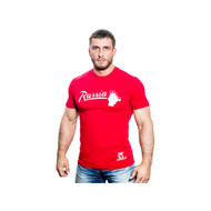 KLOKOV RUSSIA WINNER T-SHIRT RED