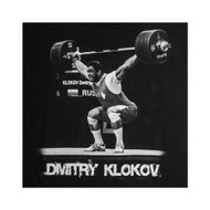 KLOKOV SNATCH T-SHIRT BLACK AND WHITE