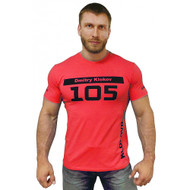 KLOKOV 105 WINNER T-SHIRT CORAL