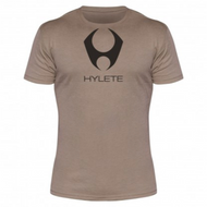 Hylete compete performance 3.0 tee (Light Brown/Black)