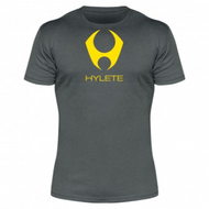 Hylete compete performance 3.0 tee (Slate/Atomic Yellow)