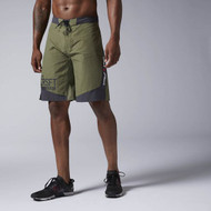 REEBOK CROSSFIT SUPER NASTY TACTICAL BOARDSHORT Canopy Green (AI1491)  www.battleboxuk.com