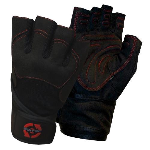 CrossTrainingUK - SciTec Nutrition WeightLifting Gloves Red Style