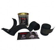 Klokov Winner Black Weightlifting Elastic Wrist Support Bandage Extra Long - www.BattleBoxUk.com