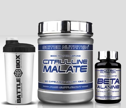 BETA ALANINE Carnosine booster CITRULLINE MALATE Crossfit Pack Progenix Lactic Booster