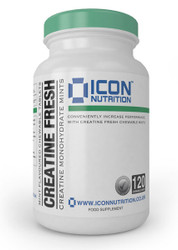 ICON NUTRITION CREATINE CHEWABLE MINTS (30SERV)