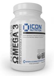 ICON NUTRITION OMEGA 3 (60SERV)