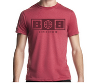 Battle Box Logo Pale Red T-shirt