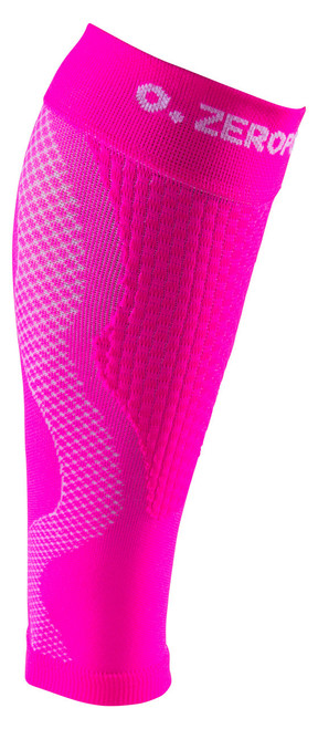 ZERO POINT COMPRESSION PERFORMANCE CALF SLEEVES OX PINK - BattleBoxUK.com