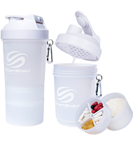 SmartShake Protein Smart Shaker 600ml Neon White