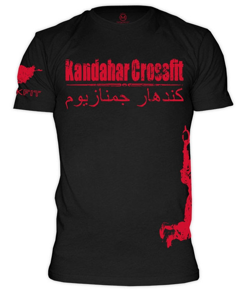 Rokfit Kandahar Crossfit T Shirt Battle Box Uk