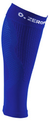 ZERO POINT COMPRESSION PERFORMANCE CALF SLEEVES OX DARK BLUE - www.battleboxuk.com