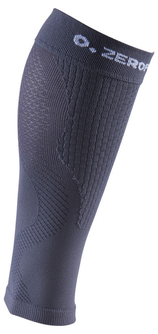 ZERO POINT COMPRESSION PERFORMANCE CALF SLEEVES OX DARK GREY - www.battleboxuk.com