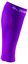 ZERO POINT COMPRESSION PERFORMANCE CALF SLEEVES OX DARK PURPLE - BATTLEBOXUK.COM