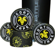 Goat Tape Scary Sticky Black and Yellow - BattleBoxUk.com