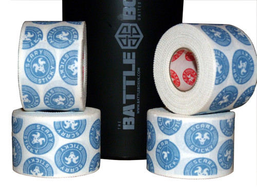 Goat Tape Scary Sticky White and Blue - BattleBoxUk.com