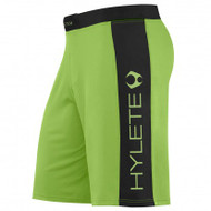 HYLETE vertex comp internal pocket short (neon green/black)